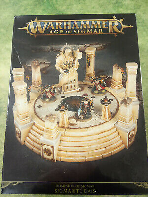 AnalíTico Warhammer Age Of Sigmar Dominion Of Sigmar Sigmarite Dais - New And Sealed Suministro Suficiente