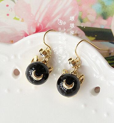 Sailor Moon 20th crystal anniversary Tsukino Usagi earrings Pearl ear Pendants