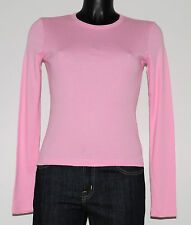 T-shirt GUESS JEANS rose Taille S Neuf