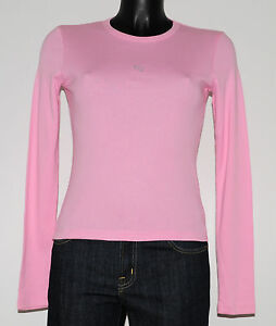 T-shirt GUESS JEANS rose Taille S Neuf   eBay 6a894350925