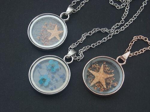 Kette Halskette mit Anhänger Medallion Amulett Zirkonia Strass