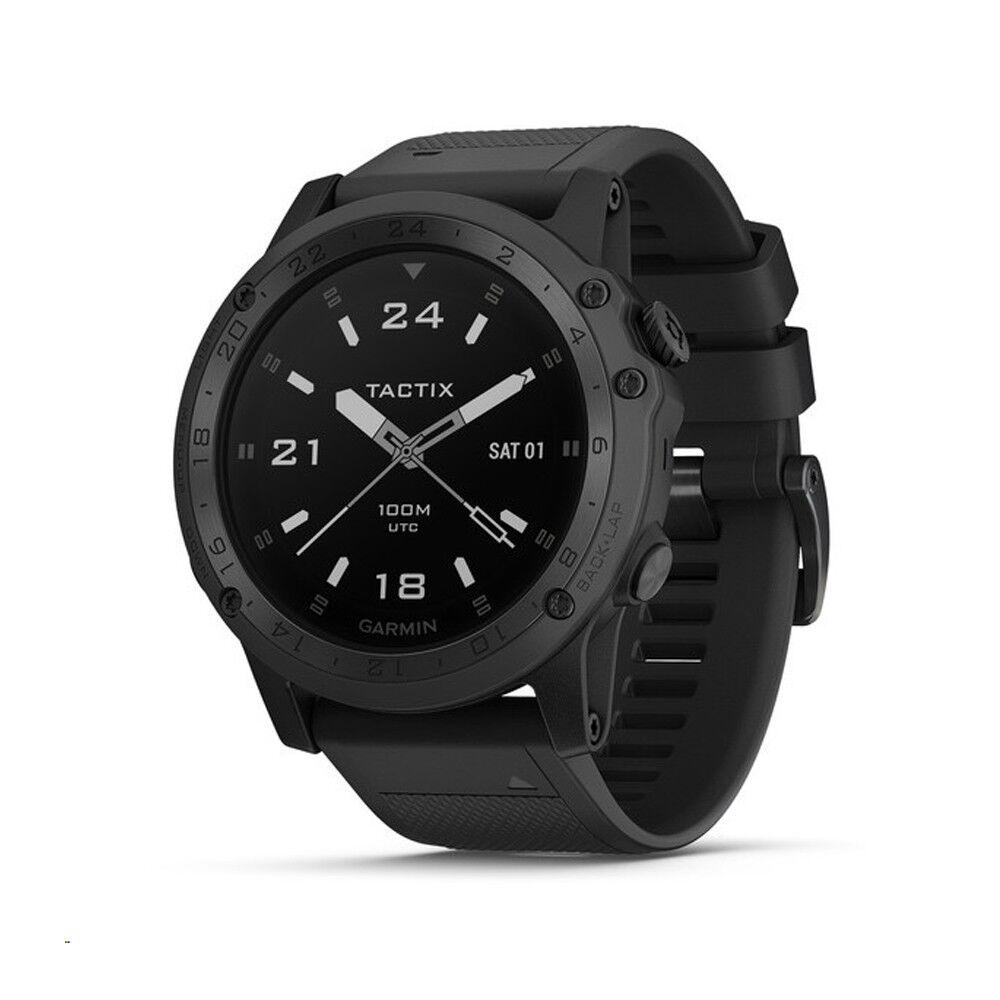 Garmin Tactix Charlie Charlie Charlie Multisport GPS Uhr Saphir Edition Schwarz c77425