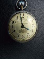 REGOLATORE FERROVIARIO Vintage Amida Orologio da taschino per restauro