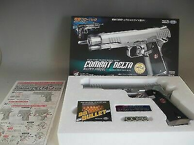 Tokyo Marui New Gin-Dan RF No.1 Police Pistol SS Real Silver Airsoft Gun Japan