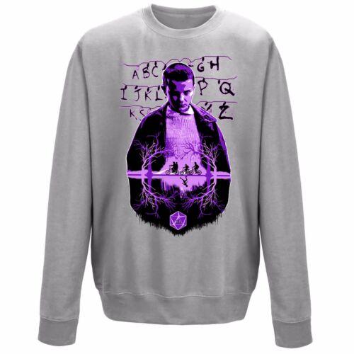 Undici 011 ELLE estraneo cose ispirato Unisex Felpa Sweater