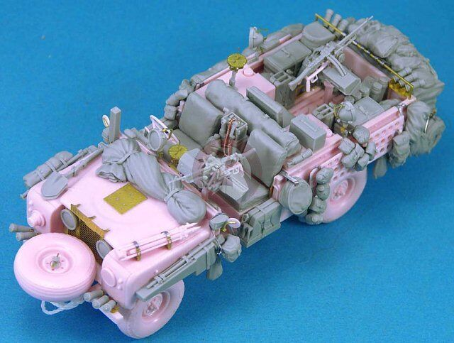Legend 1 35 British SAS Land Rover Pink Panther Update & Stowage (Tamiya) LF1262