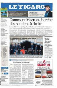 Le-Figaro-26-4-2017-N-22616-MACRON-a-DROITE-amp-GAUCHE-Sylvain-TESSON-TRUMP-attaq