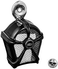 Harley FXDWG 1995-2014Mach 2 Horn Cover For Cowbell Horns Black by Kuryakyn