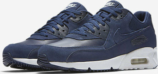 569191d81 Nike Air Max 90 Ultra 2.0 Ltr Mens 924447-400 Navy Blue Running Shoes Size  7.5