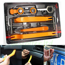 12Pc Car Panel Dash Door Trim Audio Stereo GPS Removal Install Pry Key Tools Kit