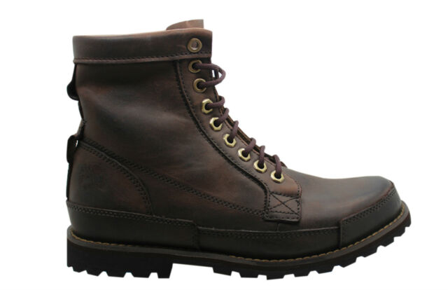 a1232d7af7b Timberland Earthkeepers Original Leather 6 Inch Mens Boots Dark Brown 15550  D83