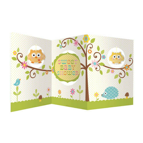 Happi Tree Owl Baby Shower Party Table Centrepiece