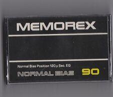 MEMOREX 90 (×1): MADE IRELAND NEW SEALED BLANK CASSETTE TAPE