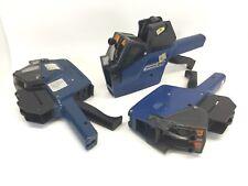 X3 Sato Avery Dennison 210 Double Line Retail Price Label Marker Gun Untested