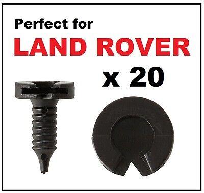 Land Rover Range P38 Discovery Freelander Door Panel Plastic Stud /& Clip Set x20