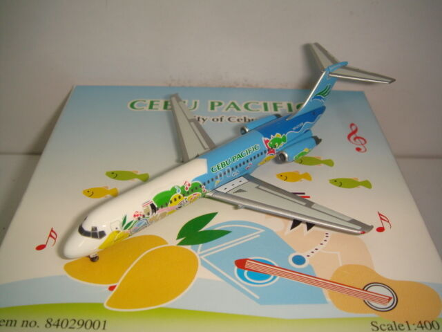 Phoenix 400 Cebu Pacific DC-9-30  bluee Fish color - City of Cebu  1 400