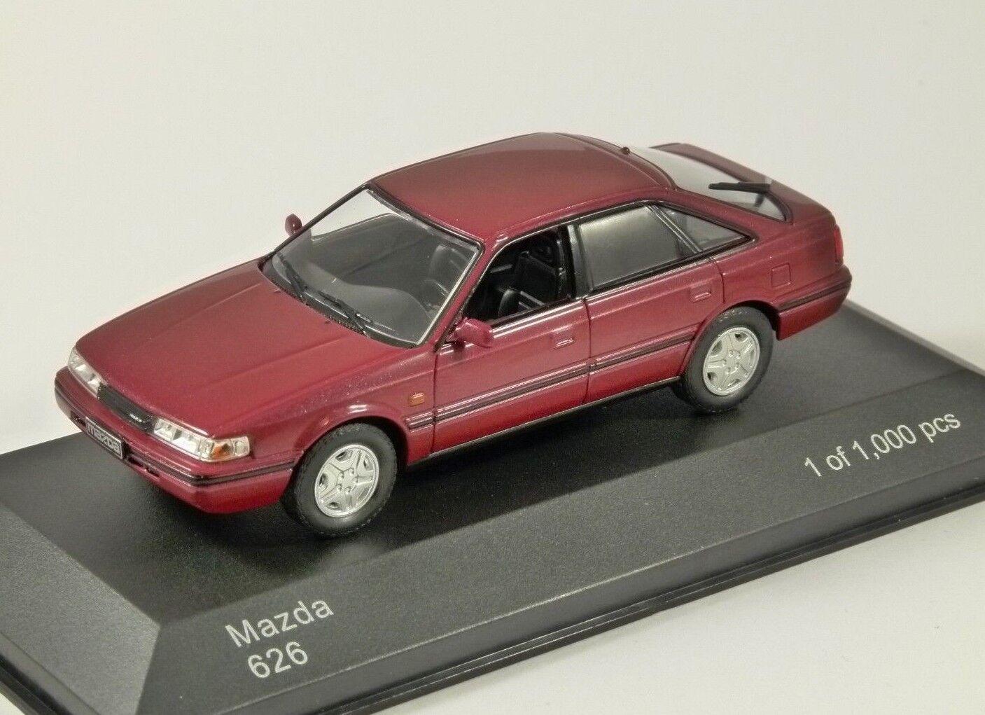 1990 MAZDA 626 in Red 1 43 scale model by Whitebox