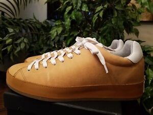 RAG-amp-BONE-MEN-039-S-RB1-LOW-TOP-LEATHER-CUOIO-SNEAKERS-SIZE-10-5-THESPOT917