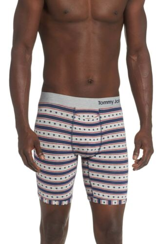 NWT TOMMY JOHN Men/' Classic Cool Cotton Patriotic print Boxer Brief Size M and L