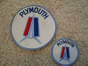 PLYMOUTH GTX SEW//IRON ON PATCH BADGE EMBLEM EMBROIDERED MOPAR HEMI CAR