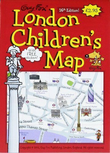Guy Fox London Children/'s Map Map