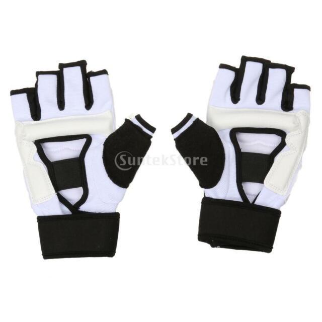Kinder Erwachsen Gepolsterte PU Leder Handschuhe für Boxen Trainingshandschuhe
