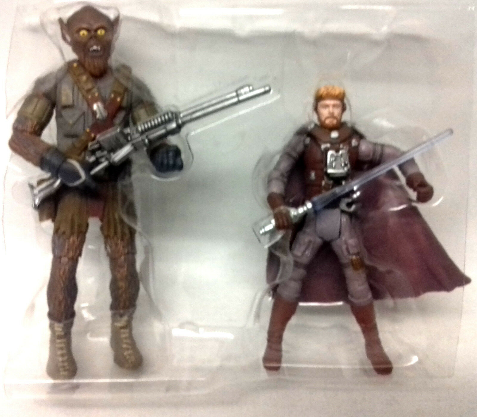 STAR WARS MCQUARRIE CONCEPT HAN SOLO & CHEWBACCA CHEWBACCA CHEWBACCA 4  action figures NO BOX b72adf