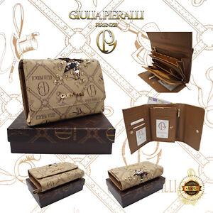 a9a89aaed44b2 Das Bild wird geladen Damen-XL-Geldboerse-Giulia-Pieralli-Design-klein- Portemonnaie-