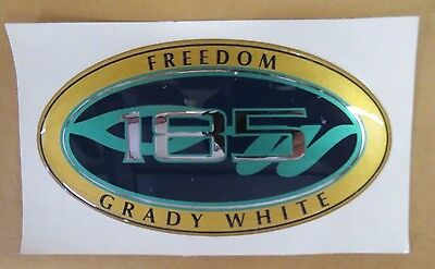 GRADY WHITE OEM 185 TOURNAMENT HULL NAME DECAL #10-997