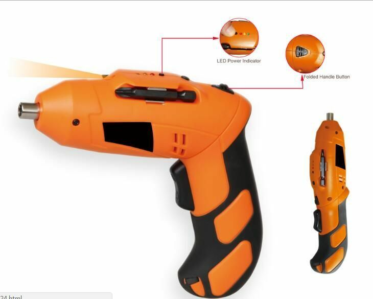 Electric Cordless Screwdriver Tool Set Repair 1 Drill Rechargeable Multifunction