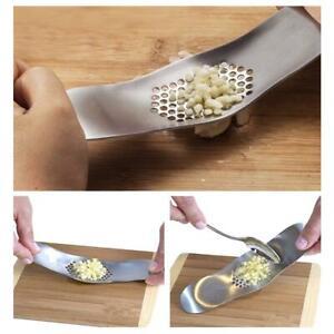 Knoblauchpresse-Schleifen-Reibe-Slicer-Cutter-Kuechenwerkzeug-430-Edelstahl-HOT