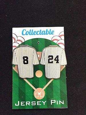Angemessen New York Yankees Revers Pins-yogi Berra Gary Sanchez Collectables-ole & Nu Seien Sie Freundlich Im Gebrauch Weitere Ballsportarten Baseball & Softball