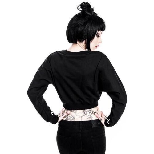 Top Pullover Ouija Slumber Killstar Sweatshirt Top Crop Gothic Crop Eternal E17Opw