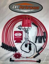 BUICK Big Block 400 430 455 small cap RED HEI DISTRIBUTOR + 8MM PLUG WIRES - USA