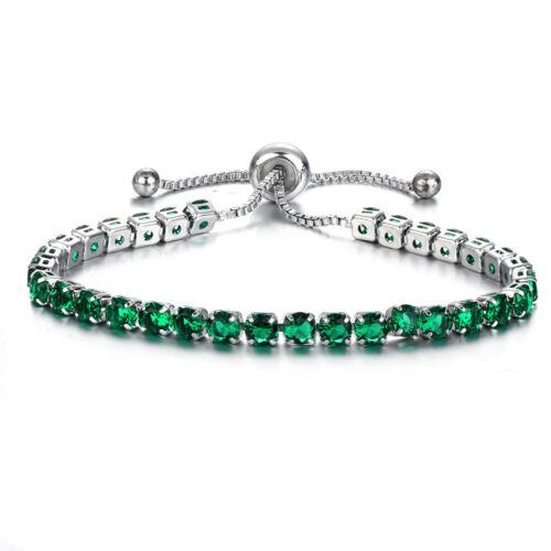 Femmes cristal Zircon Wrap réglable manchette Bracelet bijoux de mariage mode
