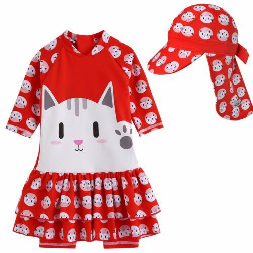 "Vaenait Baby Girls Onepiece Leggings Swimwear Suit /""Baby Hellow Cat/"" 6-24M"