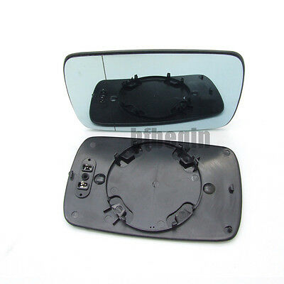 Left Side Electric Blue Wing Door Mirror Glass For BMW 3 Series E46 5 Series E39