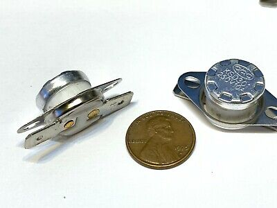 2 Pieces N//C 85ºC 185ºF normally closed Thermal  Thermostat switch KSD301 C26