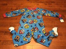 86b35d23d Nickelodeon Paw Patrol Team Baby Boys Toddler Footed Blanket Sleeper ...