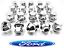 20-x-alliage-ecrous-de-roue-Ford-FOCUS-MK1-MK2-MK3-ST-RS-M12-X-1-5-19-Mm-Boulon-Lug-Stud miniature 1