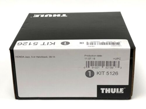 Thule Evo Fitting Kit 5126 Honda Jazz 2008-2014 With No Pre-Existing Attachments