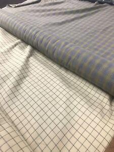 Flannel-Tartan-Check-Fabric-100-Soft-Cotton