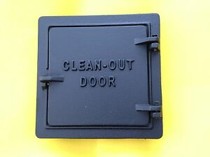 Perfect Image Is Loading Chimney Door Cast Iron 8X8 Inch Opening Ash