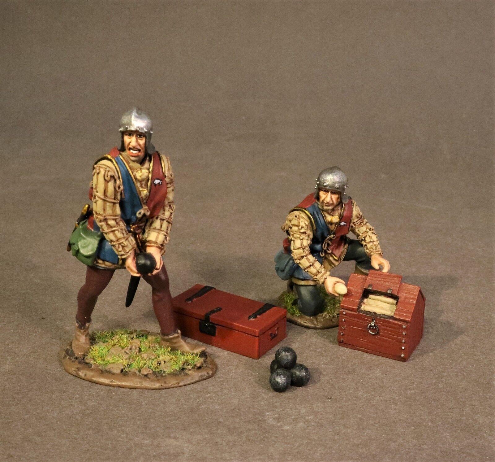 JOHN JENKINS WAR OF THE pinkS RYORKART-02 TWO MAN ARTILLERY CREW MIB