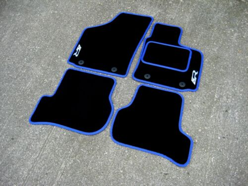 2009-2012 Cupra R Logos x2 Tapis de voiture - choix de couleurs! Seat Leon Cupra R