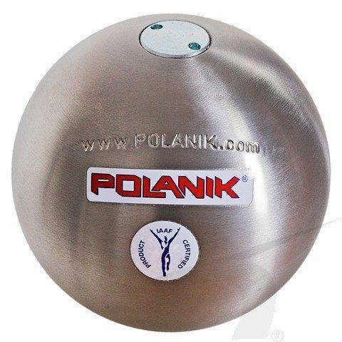 Polanik [STAINLESS] Steel (COMPETITION) Shot Puts Weight  4kg    95mm-Stainless