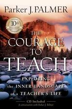 THE COURAGE TO TEACH, PARKER PALMER, like new, CD, #116