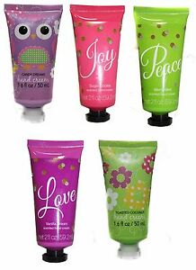 HOLIDAY-2-oz-Scented-HAND-CREAM-Stocking-Stuffer-BATH-amp-BODY-New-YOU-CHOOSE