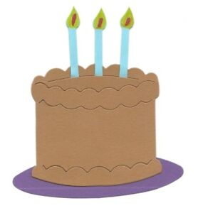 Image Is Loading BIRTHDAY CAKE 2 3 X CANDLES Amp PLATE