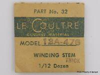 Jaeger Lecoultre Stem Cal. 476 Part 32